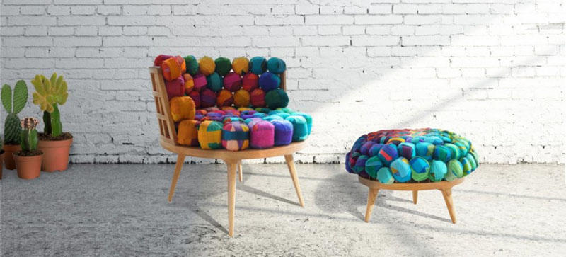 Recycled-Silk-Chair-Ottoman-and-Stool-by-Meb-Rure-3